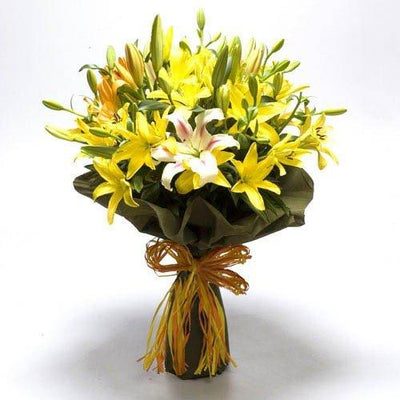 Exotic Lilies - Special Packing flowers CityFlowersIndia