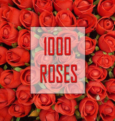 1000 Valentine Ross _ From the Heart ! flowers CityFlowersIndia