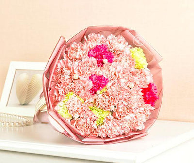 Gorgeous Carnations Delight flowers CityFlowersIndia