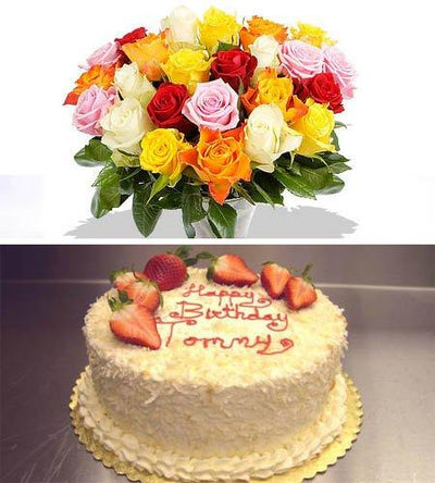 Birthday Surprise Combo flowers CityFlowersIndia