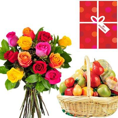 Healthy Surprise - Hamper flowers CityFlowersIndia