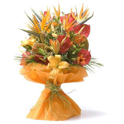 Marvellous Combination - Premium Bunch flowers CityFlowersIndia