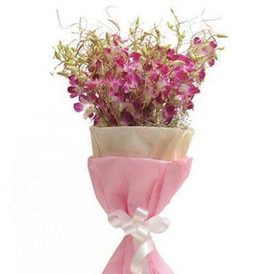Unforgettable Hand Tied Orchids flowers CityFlowersIndia