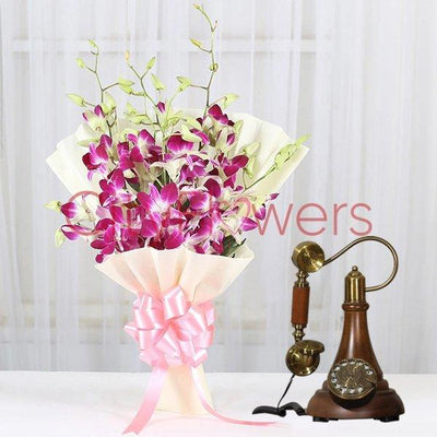 WISHES AND BLESSINGS flowers CityFlowersIndia