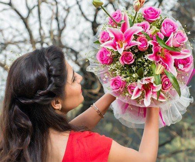 Love is Bliss flowers CityFlowersIndia
