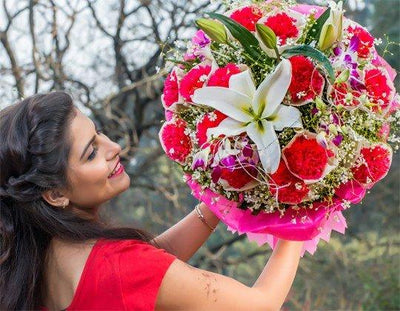 Love is Life flowers CityFlowersIndia
