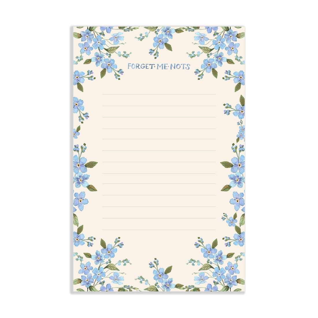 Forget Me Not Notepad