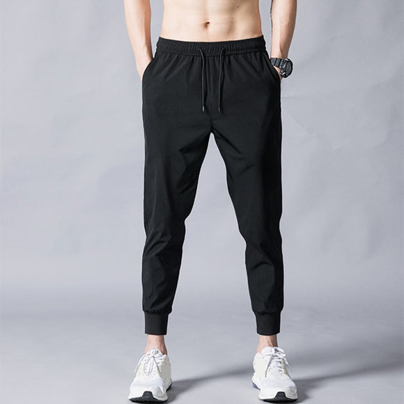 MRMT 2021 Brand Summer Men's Trousers Thin Fashion Slim Ninety Points Pants for Male Leisure Small Feet Trouser