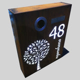 Cor-Ten Steel letter Box