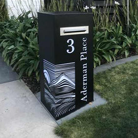 Powder Coated Letter Box