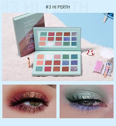 Perth - Focallure 15 Color Eye Shadow Palette