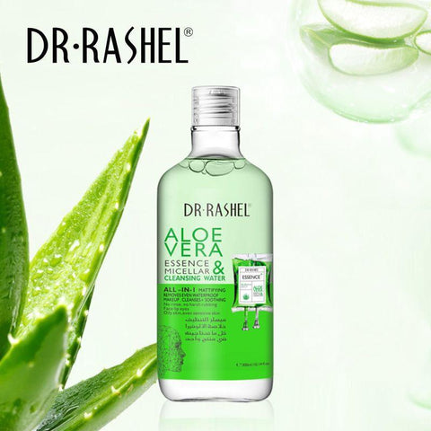 ALOE VERA ESSENCE & MICELLAR CLEANSING WATER
