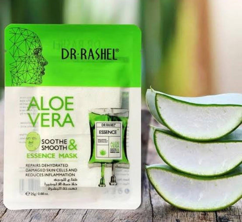 Aloe Vera Soothe & Smooth Essence Mask 3 Pcs