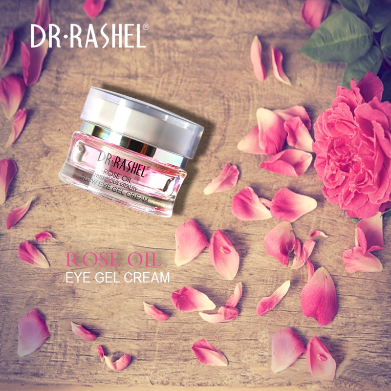 Rose Oil Nutritious Vitality Glow Eye Gel Cream