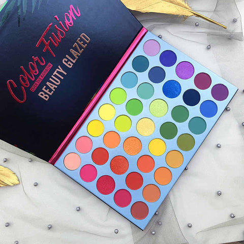 COLOR FUSION OVER THE RAINBOW EYESHADOW PALETTE