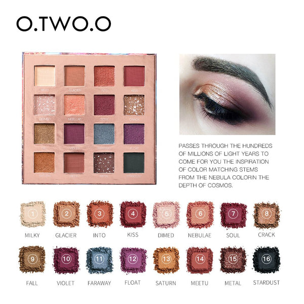 16 Colors Eyeshadow Palette STELLAR ROMANCE