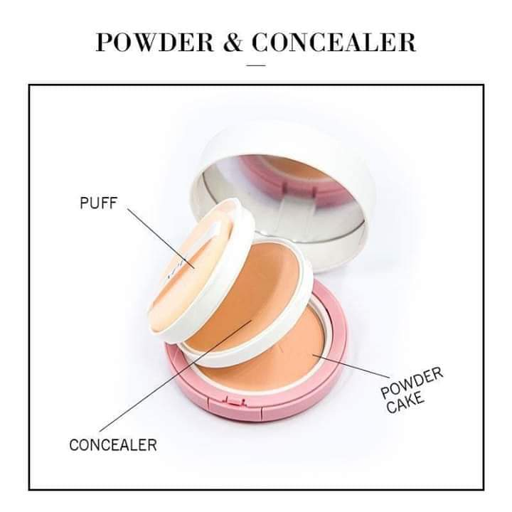 2 IN 1 POWDER & CONCEALER