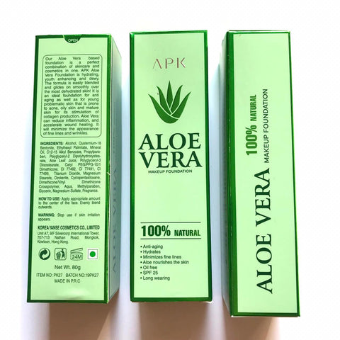 ALOE VERA MAKEUP FOUNDATION APK 100% NATURAL