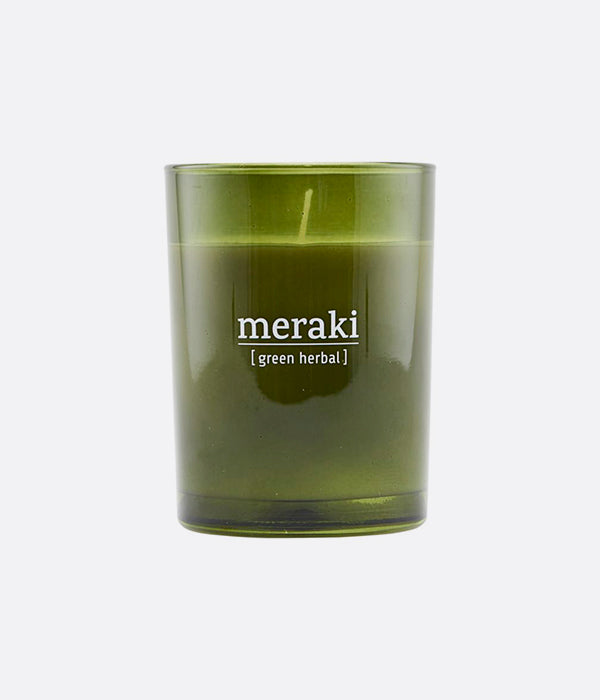 Bougie parfumée, Green herbal