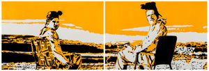 "24"" x 72"" (24"" x 36"" x 2 panels) -  Breaking Bad"