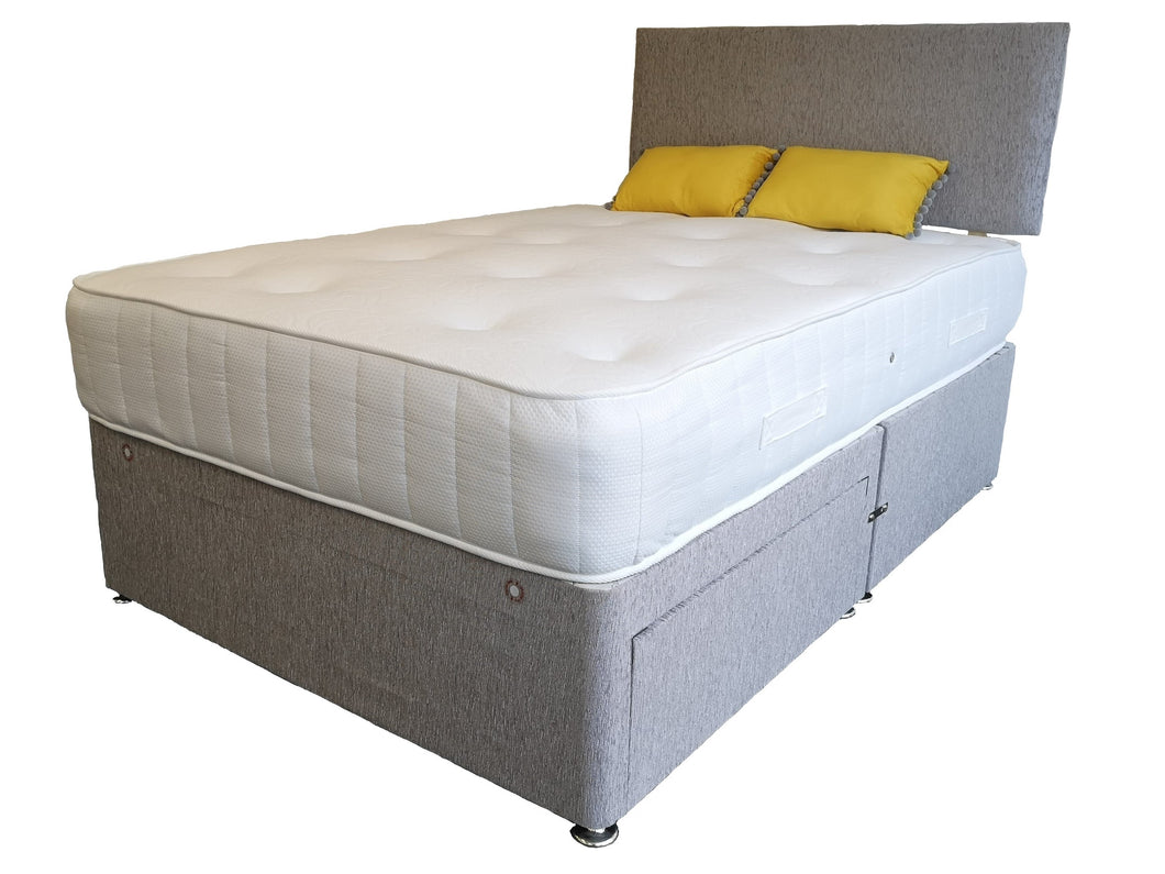 Beauty Sleep No Drawer Divan Set - King