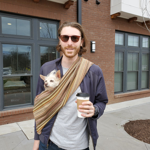 Dog Sling Carrier - Moab Woven