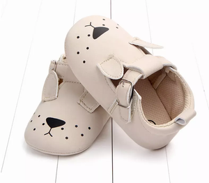 Cartoon animal face baby shoes