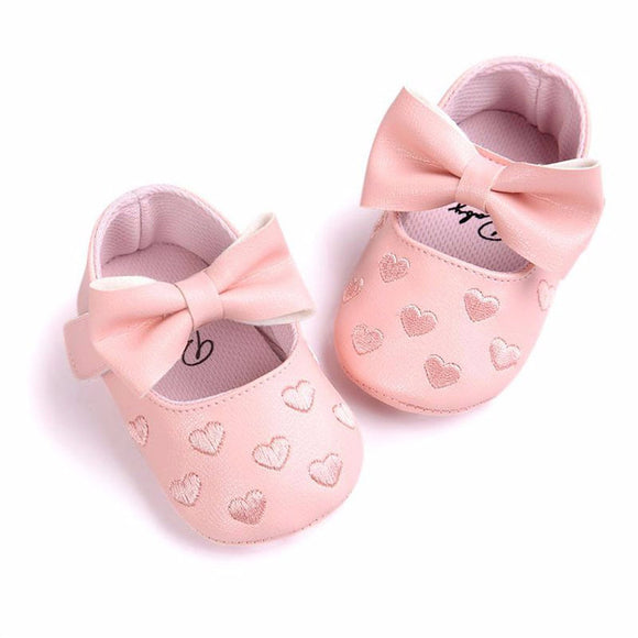 Pink first walkers (0 - 12 months)