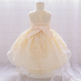 Princess long tail ball gown