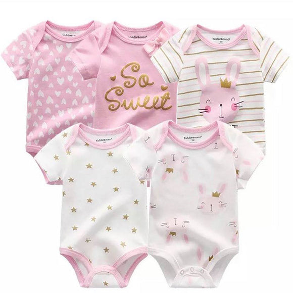 Romper/body suit pack pink (3 - 12m)