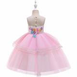 Unicorn frocks for 3-9 yr