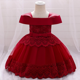Mini off shoulder frocks (3-24m)