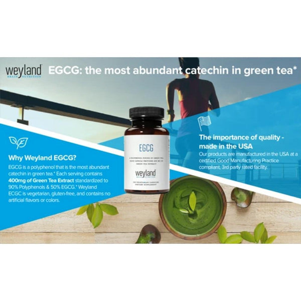 EGCG from Green Tea Extract, 400 mg (100 Vegetarian Capsules)
