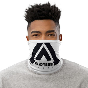 Ahdasee Neck Gaiter (White & Black) - Ahdasee Records