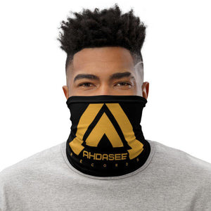 Ahdasee Neck Gaiter (Black & Gold) - Ahdasee Records