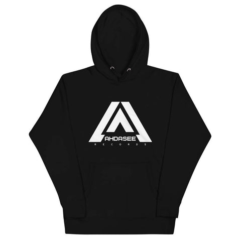 Ahdasee Hoodie ( White Logo) - Ahdasee Records