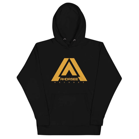 Ahdasee Hoodie (Gold Logo) - Ahdasee Records