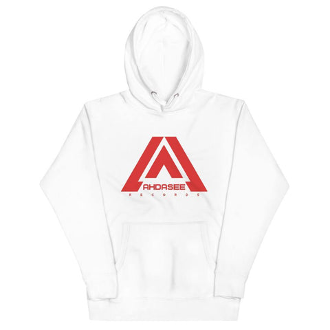 Ahdasee Hoodie (Red Logo) - Ahdasee Records