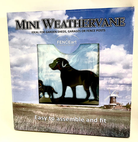 Mini Weathervane (Dogs)