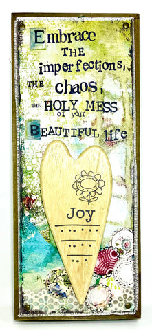 Joy and Beautiful Life Wall Art