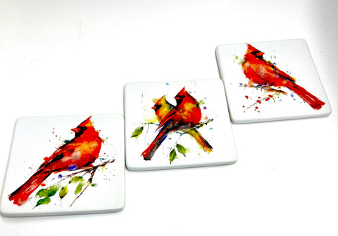 Set of Three Cardinal Magnets