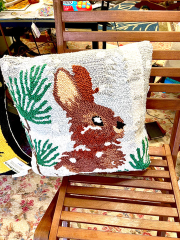 Rabbit Indoor/Outdoor Pillow