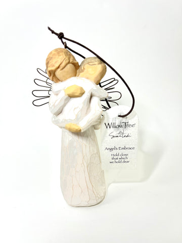 Angels Embrace Ornament