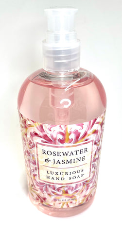 Rosewater and Jasmine Handsoap