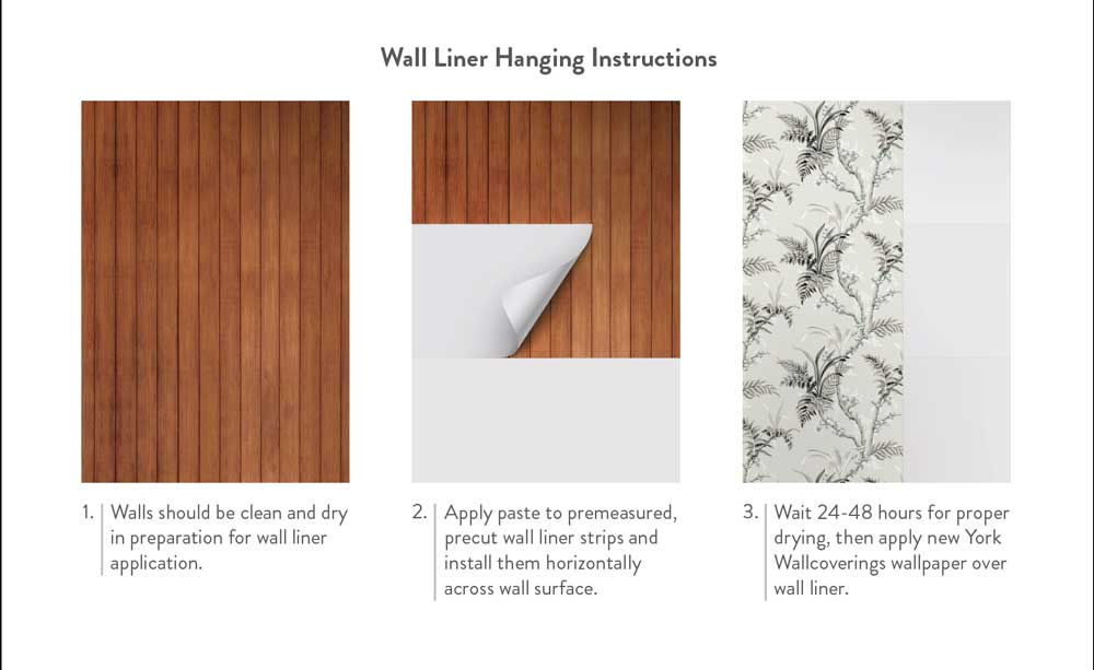 Wall liner instructions