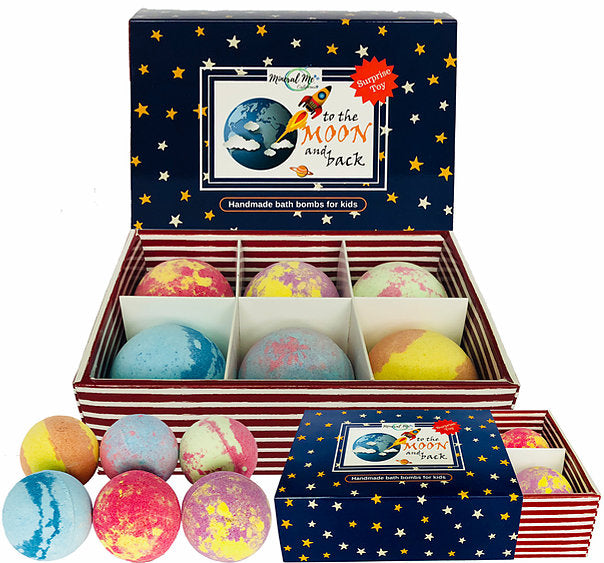 Kids Bath Bomb Gift Set with Toy