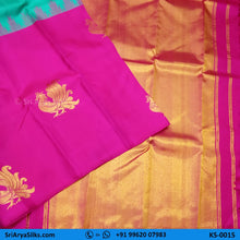 Load image into Gallery viewer, KS0015 1 Sri Arya Silks Buy Silk Sarees Online Chennai1