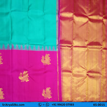 Load image into Gallery viewer, KS0015 3 Sri Arya Silks Buy Silk Sarees Online Chennai1