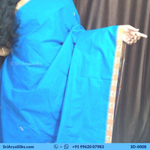 Load image into Gallery viewer, SD 0008 Sri Arya Silks Buy Pure Silk Sarees Online Chennai 4