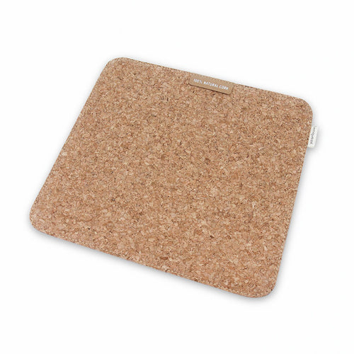 'Low Carbon Living' Cork Mouse Pad - IZAKKIE Homewares & Gifts  - 1